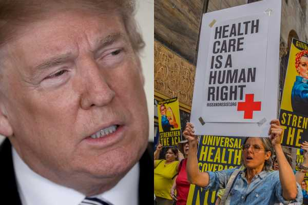 These are the Trump voters who believe in universal health care