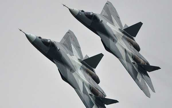 DoD: Russian Su-57 Fighter Jets Pose No Threat to Coalition Operations in Syria