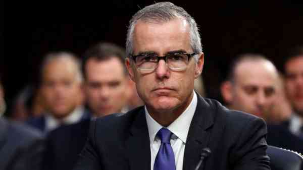 McCabe wrote memo detailing discussion with deputy attorney general: Source