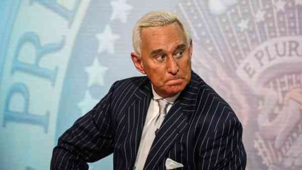 As Mueller's focus tightens, Roger Stone declares he will 'never betray' Trump