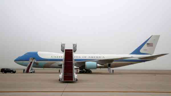 Air Force cancels $24 million contract for new refrigerators on AF1
