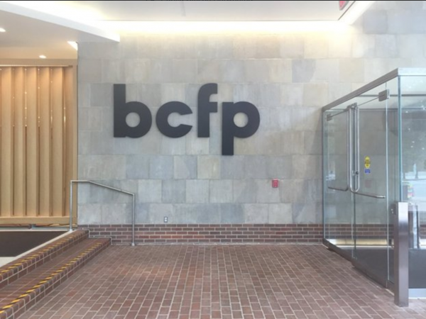 Mick Mulvaney changed the CFPB's sign to BCFP