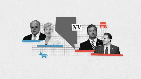Live results for Nevada's Senate, governor, and key House races