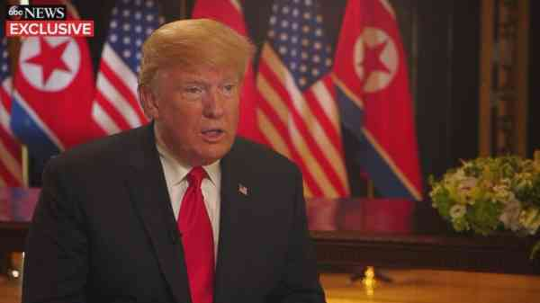 US to end military exercises in S. Korea, Trump says: Live updates