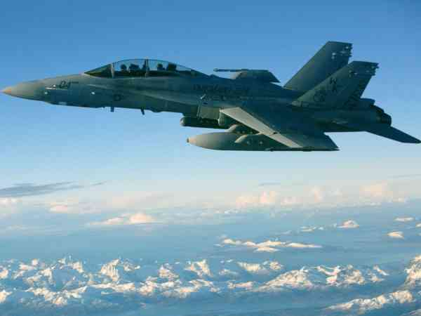 Marines identify killed F/A-18 pilot as search continues for 5 missing