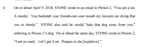 3 big takeaways from the Roger Stone indictment
