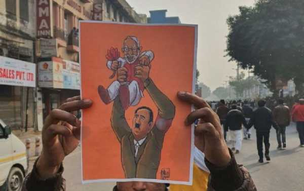 Poster of Hitler Holding Modi Sparks Controversy on Twitter After German TV Report