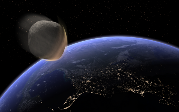 A Giant Asteroid is Hurling Towards Earth at Seventeen Kilometres-Per-Second