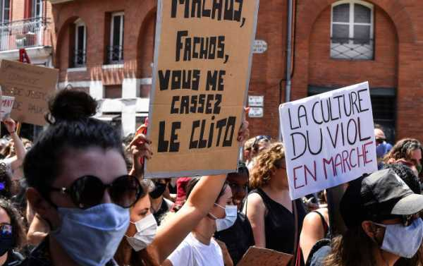 Feminists Protest Appointment of French Interior Minister Darmanin, Who Was Accused of Rape - Video
